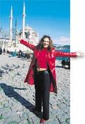 Istanbul'da esen Meltem